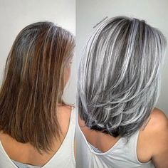 Gray Lace Frontal Wigs long white hair on body – wigsshort Long White Hair, Silver Grey Hair, Grey White Hair, Grey Hair Dark Skin, Gray Hair Ombre, Silver Hair Toner, Grey Hair Over 50, Medium Hair Styles, Curly Hair Styles