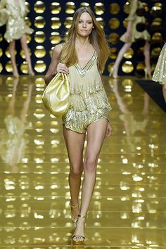 Elie Saab Spring 2007 Ready-to-Wear Fashion Show - Fabiana Semprebom