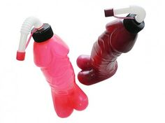 Awesome Pecker Drink Bottle - Brown or Pink $14.95 FREE SHIPPING