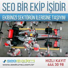 Seo bir ekip işidir, ekibinizi sektörün ilerisine taşıyın!  #seoakademi #seo #kurs #egitim