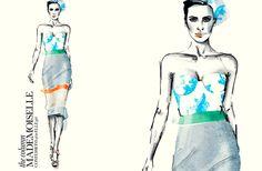 fashion illustration by Sabine Pieper