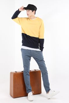 Every girl dreams of her boyfriend to be like this: Obba ZenQ Style! www.itsmestyle.com/ #menswear #menstyle #menstyle #mensfashion #men #boyfriend #jacket #tshirt #shirt #pants #cap #shoes