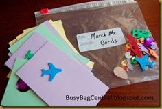 This preschooler activity is developed off of a similar activity suggested by the Parents As Teachers program. The concept is to have the ...