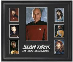Star Trek: The Next Generation Limited Edition Framed Memorabilia