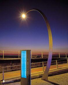 Blackpool Boardwalk Lighting