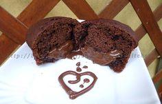 Muffin con cuore alla nutella ricetta golosa