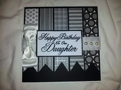Daughter birthday card designed by Leanne Roebuck
