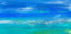 Love this acrylic paintingfrom UGallery.December Beach Day by Alicia Dunn