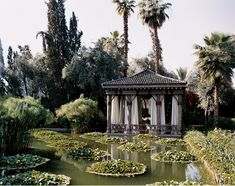 Marella Agnelli's house in Marrakech, Morocco. Photographed by Eric Boman, Vogue, August 2006