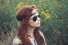 #portrait #sunglasses #hippie #retro #style #photography