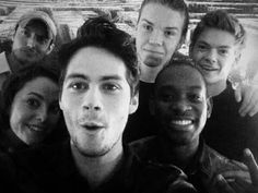 LOVE maze runner #1 movie of all time thomas sangster and Dylan O'brien are amazing