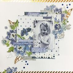 My second layout for the December Kit over at . loved the Ivy Rose collection from so much! Scrapbook Paper Crafts, Scrapbook Albums, Scrapbook Cards, Scrapbook Journal, Scrapbook Page Layouts, Scrapbooking Ideas, Wedding Scrapbook, Making Ideas, Ivy Rose