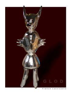 GLOD by Franco Losvizzero h 170 cm Made in Murano (Venice 2007)