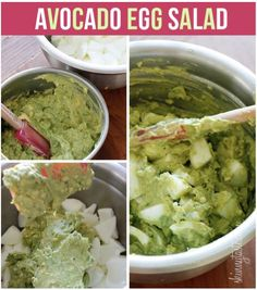 Avocado Egg Salad Recipe, #Avocado, #Easter, #Egg, #Gluten, #Salad