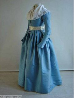Dress, 1790-1800, Dutch.