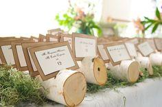 Escort cards in logs