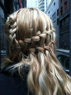 braids I could possibly accomplish this....
