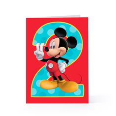 Birthday card printable mickey mouse Ideas for 2019 Diy Birthday Wishes, Free Printable Birthday Cards, Birthday Party Decorations Diy, Birthday Card Template, Birthday Crafts, Printable Cards, Free Printables, Birthday Clipart, Mickey Party