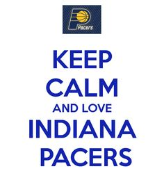 Let's go Indiana Pacers ! Click on the image for a nice surprise for a true Pacers fan.