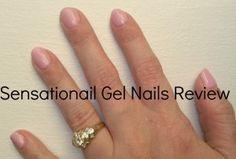 Sensationail gel nail review.