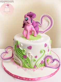 Delectable Delites My Little Pony Cake For Phoebe S 5th