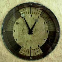 Art Deco Wall Clock - Eltham Palace, UK