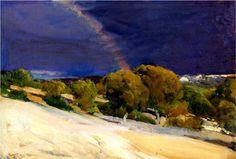 The Rainbow - Joaquín Sorolla