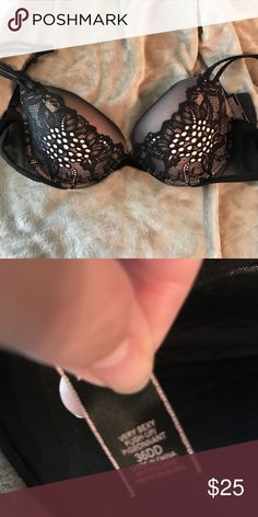 Victoria's Secret Bra Victoria's secret bra! Barely worn, I got it when I was pregnant and no longer fill it out. 36DD. Make an offer! Victoria's Secret Intimates & Sleepwear Bras