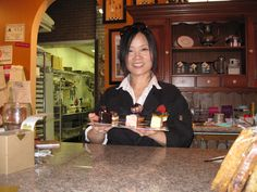 Bonnie Lau, chocolatier and owner of Miel Bonbons Chocolate, Chocolates, Brown