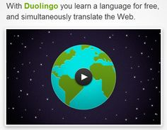 With Duolingo you learn a language for free, and simultaneously translate the Web: Sign up for private beta at http://duolingo.com/ #Language #Duolingo