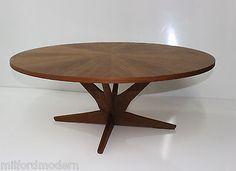 Mid-Century-DANISH-MODERN-Teak-Coffee-Table-Georg-Jensen-NEW-Barn-Find-AMAZING