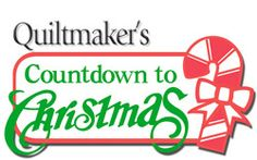 Giveaway today on Quilty Pleasures! http://www.quiltmaker.com/blogs/quiltypleasures/2012/12/quiltmakers-countdown-to-christmas-day-3-giveaway/