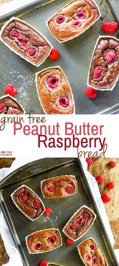 Peanut Butter Raspberry Bread – Grain Free Baking Made Easy!
