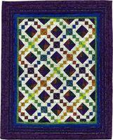 11,015 - Jinny's Jewels--Tiny Jewel Box quilt for AAQI by Martha Wolfersberger