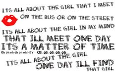 All About The Girl -R5 i frickin love this song!
