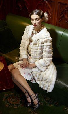 Christian Dior Fall/ Winter 2011/ 2012 Lookbook – The Last Works of John Galliano