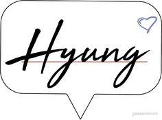 Hyung luv