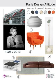 Andrée Putman + Beaubourg - - icons of the 20th Century