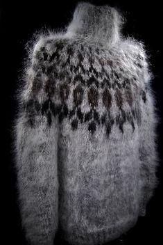 New Handknit Unisex Turtleneck Mohair Sweater Fluffy Sweater, Mohair Sweater, Men Sweater, Knitwear Fashion, Knit Fashion, Hand Knitted Sweaters, Wool Sweaters, Fair Isle Knitting, Hand Knitting