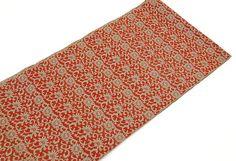 Japanese Vintage Obi Cotton Dark Reddish by VintageFromJapan, easy