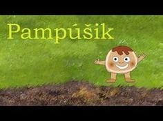 (9) Pampúšik - Animovaná rozprávka pre deti a najmenších - YouTube Fairy Tales, Diy And Crafts, Preschool, Education, Youtube, Masky, Fictional Characters, Illustrations, Kid Garden