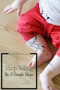 3 steps that really work if you want to yell less in your life! Idea #2 is brilliant!