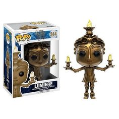 Beauty and the Beast Live Action Lumiere Pop! Vinyl Figure from Funko. Perfect for any Company_Funko Product Type_Pop! Vinyl Figures Theme_Beauty and the Beast fan! Disney Pop, Disney Pixar, Disney Live, Disney Marvel, Figurine Pop Disney, Pop Figurine, Figurines Funko Pop, Funko Figures, Lumiere Beauty And The Beast