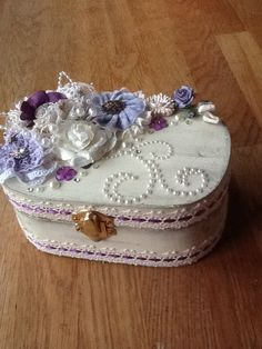 Altered box made for a friend ♥