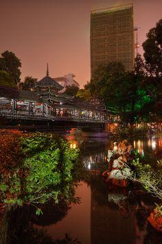 One night in Nanning, China