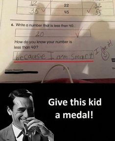 Crazy answers funny memes in www.fundoes.com/categories.aspx?category=education to make fun. Visit once, u can see more funny joke pics here. #crazyfunnymemes