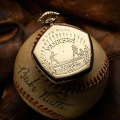 Babe Ruth's Elgin pocketwatch.  More @ http://www.watchtime.com/blog/7-celebrity-owned-watches-rocked-auction-block/ #watchtime #vintagewatches #baberuth