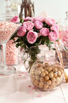 Cherry Blossom Candy Buffet — Candy Buffets — Weddings & Events — Nuts.com #nutsdotcom #wedding