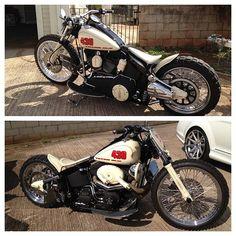 Bobber Inspiration | Harley-Davidson custom bobber | softailnation June 2014