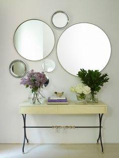 Espelho Redondo - Round Mirror                                                                                                                                                      Mais